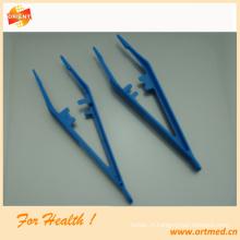 Pince à épiler médical jetable avec ou sans dents