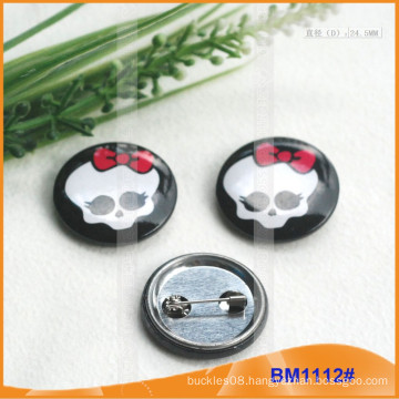 Simply Pin Back Badge BM1112