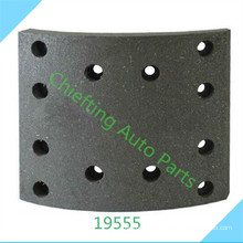 High quality part 19555 219555 00 for Iveco brake lining