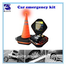 Gift car accessories ningbo car care item road assistance kit for emergency repair or warning