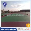 Telhas de assoalho de encurtamento plásticas exteriores do corte de voleibol do esporte