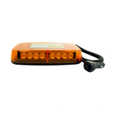 "11"" 12-24V Super Bright Strong Magnet Flashing Safety 24W LED Mini Warning Light Bar"