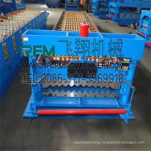 FX galvanized thin sheet barrel corrugated machine