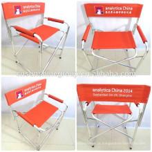 Alumínio dobrável salão cadeira quente da venda nos EUA