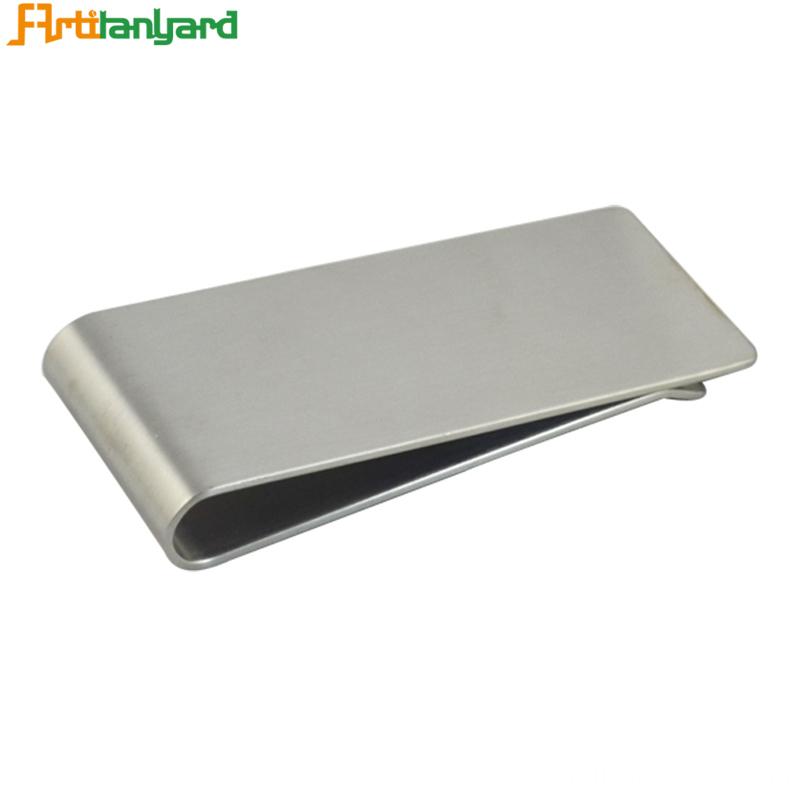 Wallet With Metal Money Clip