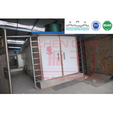 Hot Air Circulation Tunnel Dryer for Tomato Pieces
