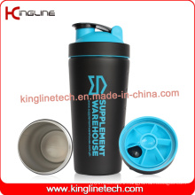 750ml New Stainless Steel Protein Shaker (KL-7068)