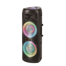 Best Price Double 8inch Party Speaker With Microphone