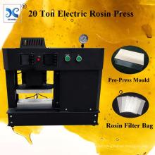 FJXHB5-E automático de 20 toneladas de calor eléctrico Rosin prensa