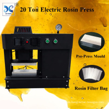 20 Ton Dual Heating Plates Automatic Rosin Heat Press Electric Rosin Press