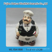 High quality ceramic chef seasoning pot