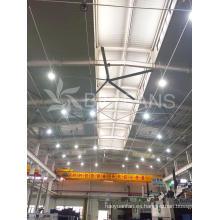 Ventilador industrial grande del equipo de la ventilación de la aleación de 7.4m / 24.3FT