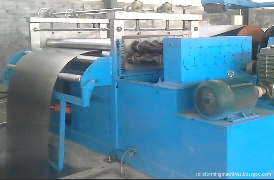 first leveling system of cut to length machine