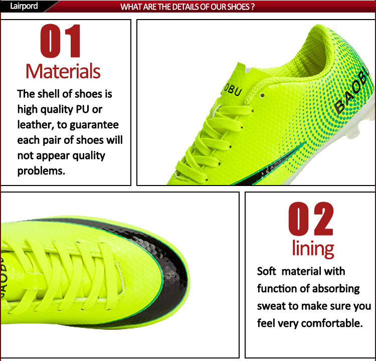 confortable men soccer shoes