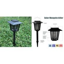 Solar LED Garden Lamp Lámpara insecto Zapper Killer Bug Mosquito Repelente