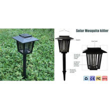 Solar LED Garden Light Lamp Insect Zapper Killer Bug Mosquito Repeller
