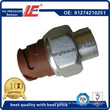 Sensor de Pressão de Óleo de Carro Automático Sensor de Pressão de Óleo Automático Indicador de Transdutor 81274210251 81.27421.0251 para Caminhão de Man