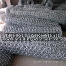 Galvanized/PVC Coated Hexagonal Wire Neeting