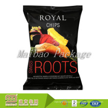 Heat Seal Plastic Food Grade Snack Packaging Potato Chips Bag With Custom Logo Design Printing