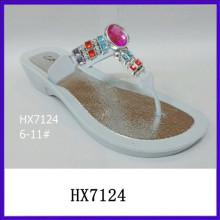 Acryl Top neue Mode Sandalen Diamant Sandalen neuesten Damen Sandalen Designs