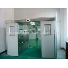 Puerta corredera hermética (doble apertura)