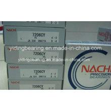 NACHI Rodamientos de bolas de contacto angular 7206cy P5