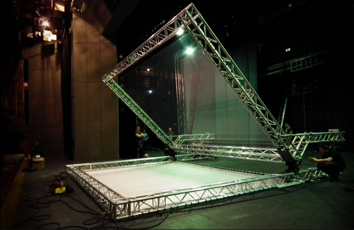 3d Holographic Projection For Large Event Show