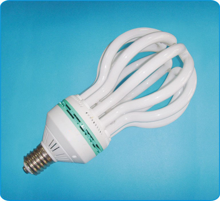most energy efficient light bulb, 6U 135w Lotus CFL