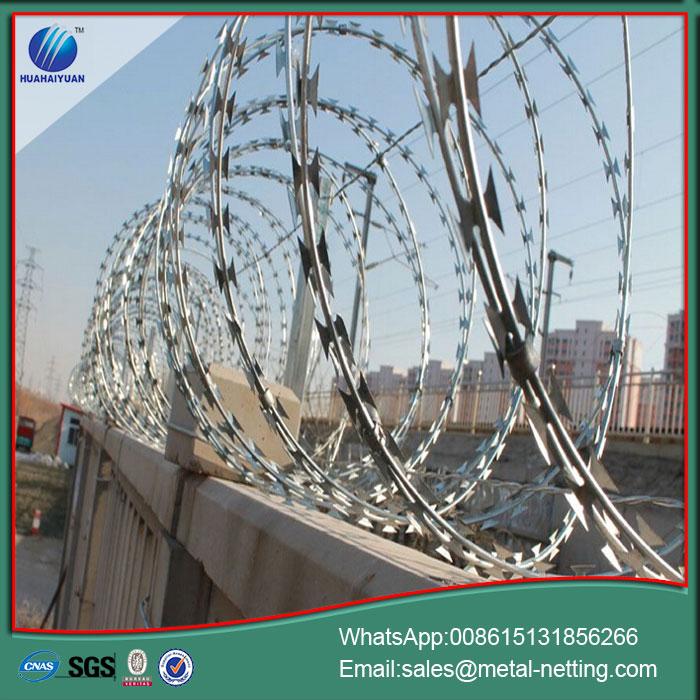 China Concertina Draht Rasiermesser Stacheldraht Hersteller