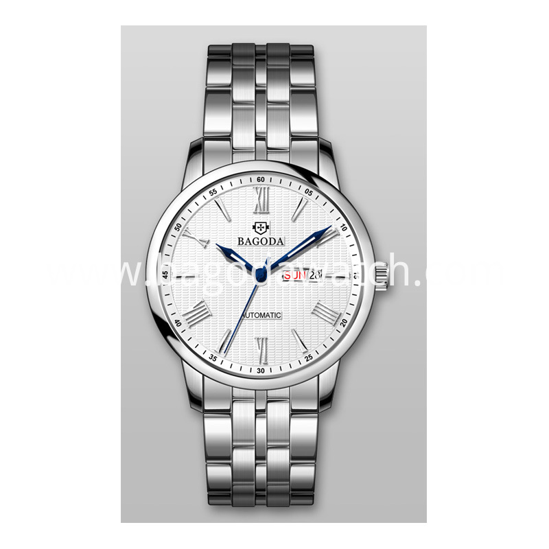 silver women's watch