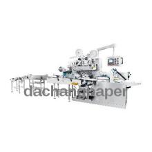 KGT-340 Automatic double labelling vacuum plastic packaging machine