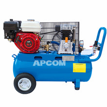 APCOM New Technology High Efficiency 3 4 5 6 HP 3hp 4hp 5hp 6hp piston air compressor with gasoline engine