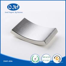 Спеченный дуговой магнит NdFeB, используемый для генератора постоянных магнитов