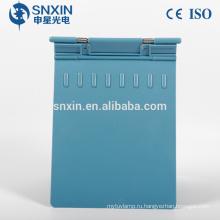 материал ABS цвет диаграммы серый синий розовый держатель медицинских карт АБС