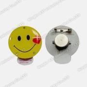 Đèn LED nhấp nháy huy hiệu, nhấp nháy huy hiệu, LED nhấp nháy Pin