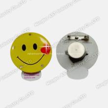 Badge clignotant à LED, Badge clignotant, Broche clignotante à LED