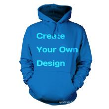 China wholesalae cheap price pain colour hoodies sweatshirts sports hoodie