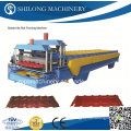 PPGI Glazed Roof Tile Roll Forming Machine