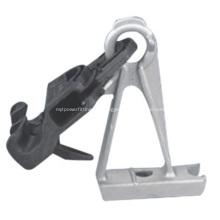 Abrazadera de suspensión de cable ABC de alta resistencia con soporte