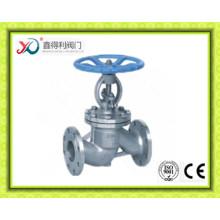 Acero al carbono DIN WCB / GS-C25 / GP240GH / 1.0619 Válvula de globo de brida