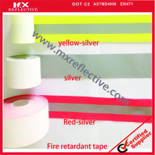 flame retardant reflective tape for clothing