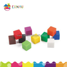 Centimètre en plastique Cubes de couleur / cubes de 1 cm (K006)