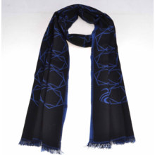 2014 Fashion 100%Mercerized Wool Scarf (14-BR420202-2.1)