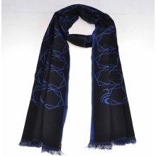 Cachecol de lã de 100% Mercerizado de moda 2014 (14-BR420202-2.1)