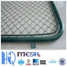 La cerca del metal coloca la cerca del acoplamiento de cadena (fábrica)