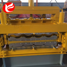 Double layer wall panel metal steel roofing sheet roll forming machine