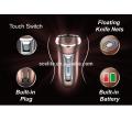 Máquina de afeitar eléctrica recargable de doble hoja