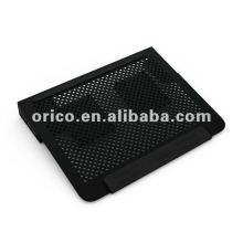 2012 le plus récent Tout le kit de refroidissement pour ordinateur portable aluminium14inch avec port usb