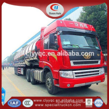 Sale 40000 3 alxes car carrier semi trailer truck stainless steel