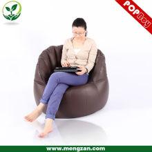PU кожаная мебель для дома / фасоль мешок диван навалом / диван beanbag